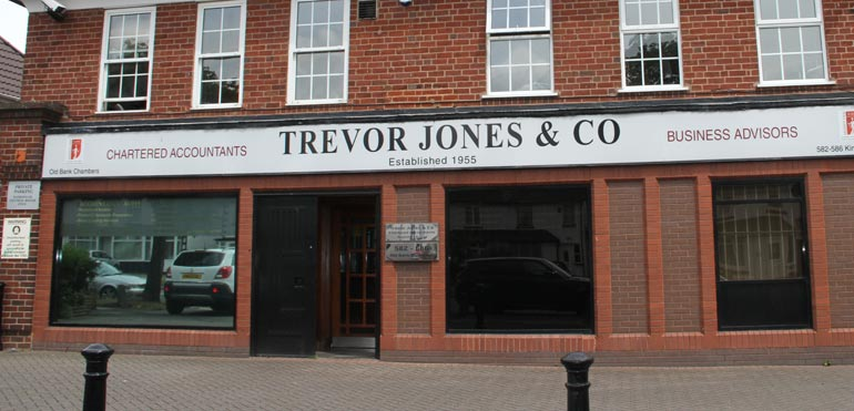 About Trevor Jones & Co, Erdington Accountants
